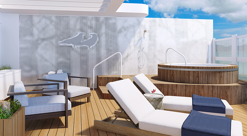 Viking Owner's Suite stateroom deck