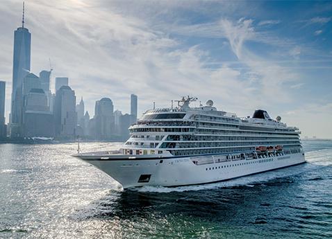 VIKING STAR ARRIVES IN NEW YORK FOLLOWING FIRST TRANSATLANTIC CROSSING