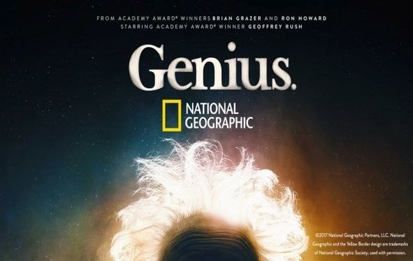 Promotional title card for National Geographic's Genius series