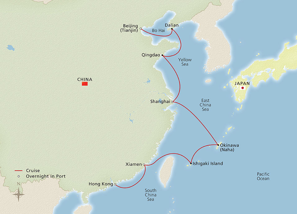 Far East Discovery Map
