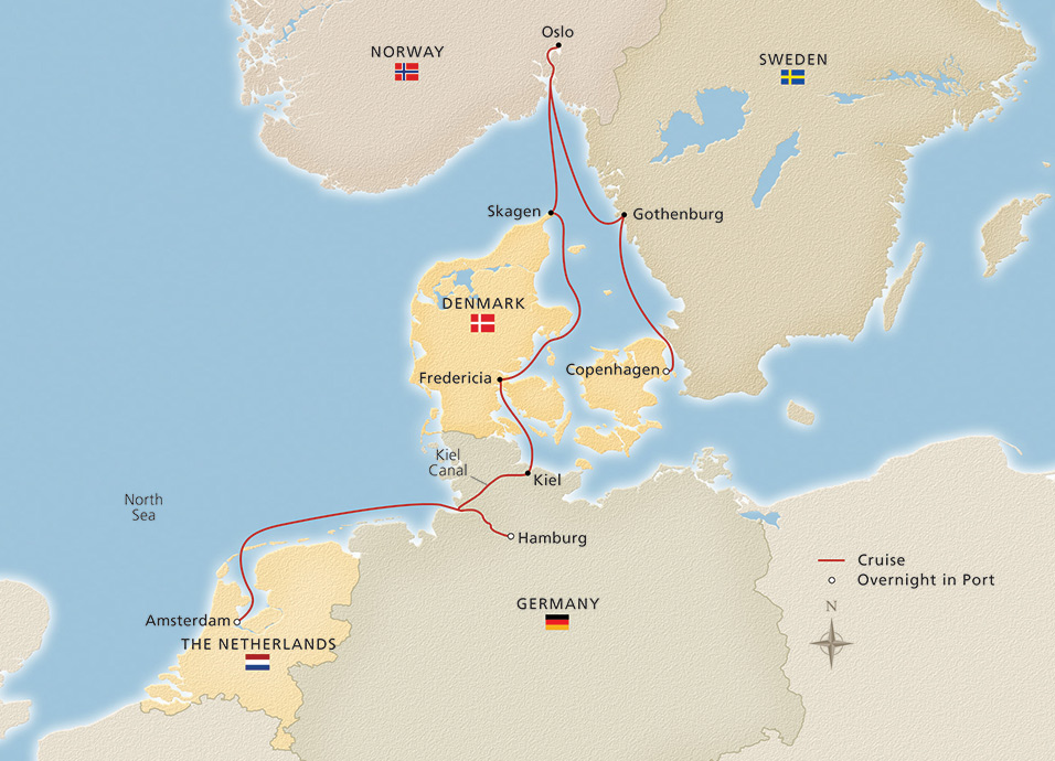 Scandinavia & the Kiel Canal