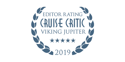 Cruise Critic Editor Rating Award for Viking Jupiter