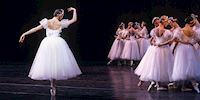 Mariinsky Ballet performance in St. Petersburg, Russia