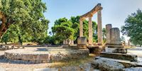 Ruins of Olympia, Greece