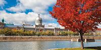 Parc du Bassin-Bonsecours in Montreal, Canada