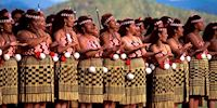 Maori dancers in New Zealand