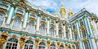 Catherine Palace in St. Petersburg, Russia