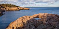 St Lawrence River rocky coastline