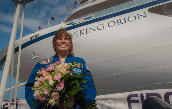 Viking Orion godmother Dr. Anna Fisher