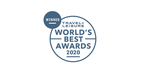 Logo of the 2019 Travel + Leisure award winner