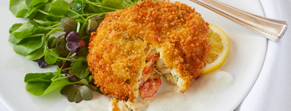 Panko-crusted Lobster Cake
