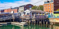 Wharf Restaurant in Portland, Maine
