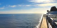 Viking Star deck, Atlantic Ocean